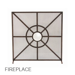 Arteriors Fireplace