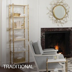 Traditional Bookcases & Etageres