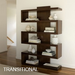 Transitional Bookcases & Etageres
