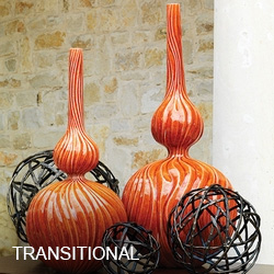 Transitional Bottles & Vases