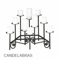 Minuteman International Fireplace Candelabras