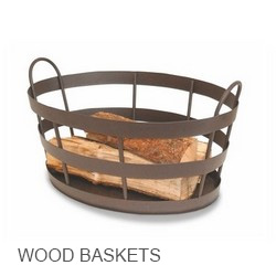 Minuteman International Wood Baskets