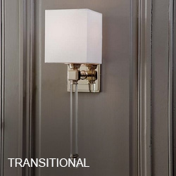 Transitional Sconces