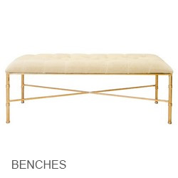 Worlds Away Benches