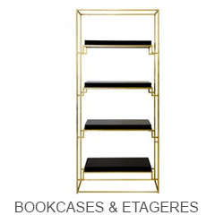 Worlds Away Bookcases & Etageres