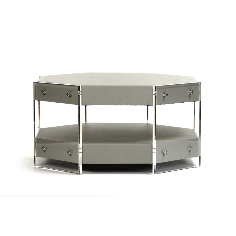 Zentique Acel Acrylic Coffee Table