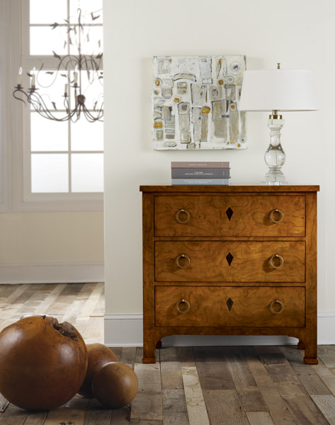 Modern History Continental Bedside Chest