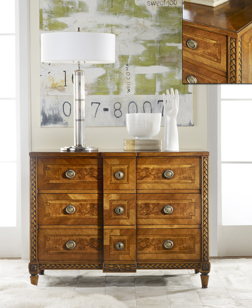 Modern History Continental Commode