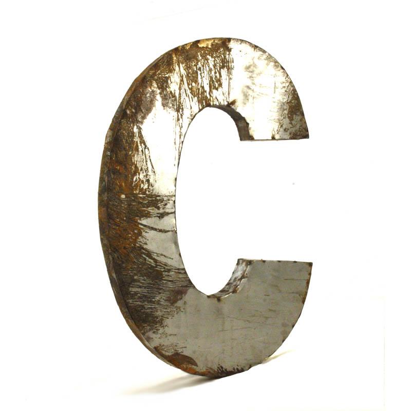Zentique Large Metal Letters