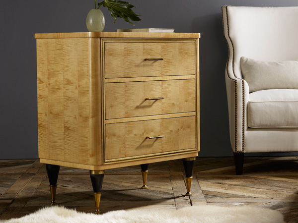 Modern History Mid Century Bedside Chest