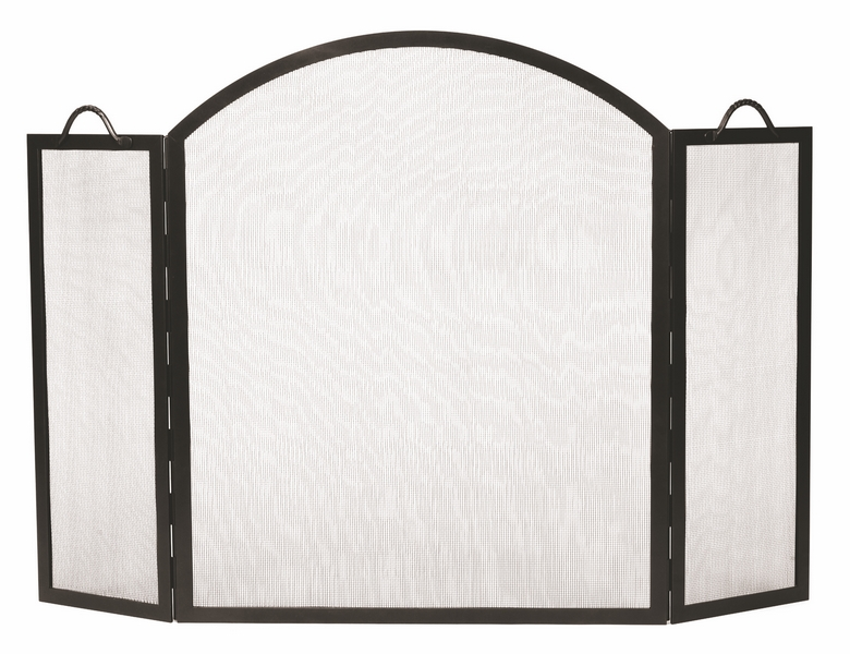 Minuteman International Arched Top Twisted Rope Screen