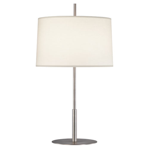 robert abbey echo table lamp stainless steel. Black Bedroom Furniture Sets. Home Design Ideas