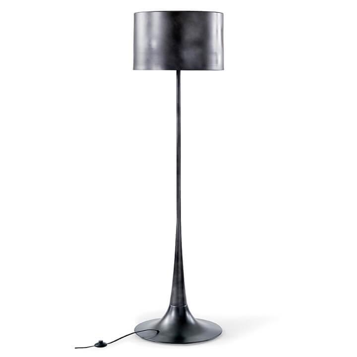 Regina Andrew Design Trilogy Floor Lamp In Black Iron