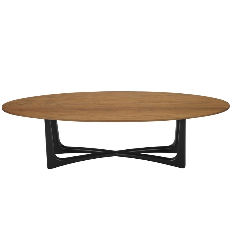 Selamat Soren Coffee Table Teak Grey