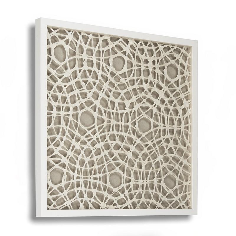 Zentique Abstract Paper Framed Art X