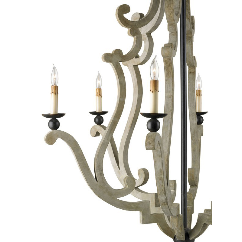 Currey And Company Durand Chandelier: Currey & Company Durand Chandelier