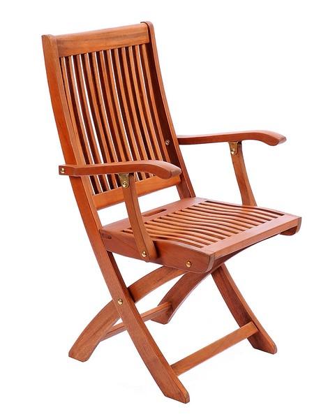 Achla Folding Chair w Arms