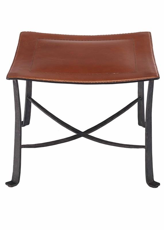 klismos stool ~ selamat klismos wrought iron stool  black