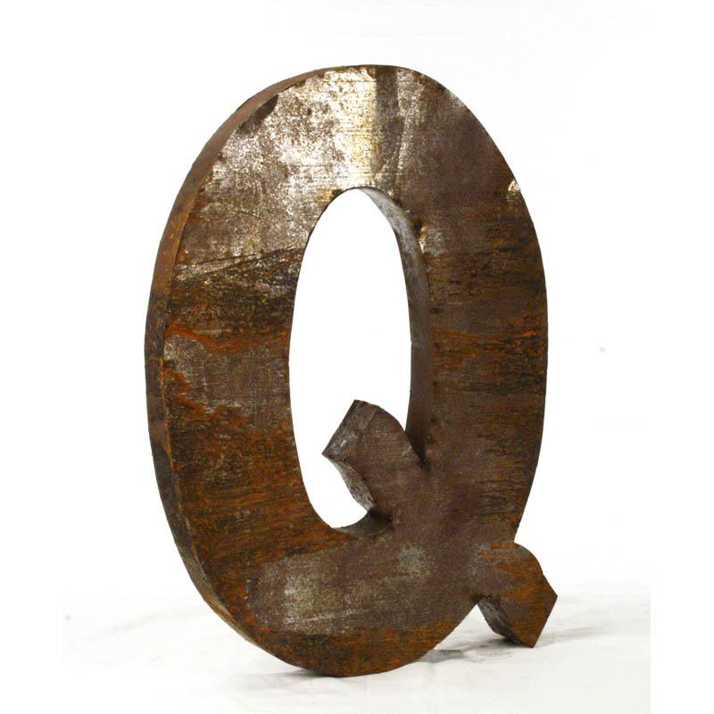 Zentique Large Metal Letters Metal Letter A