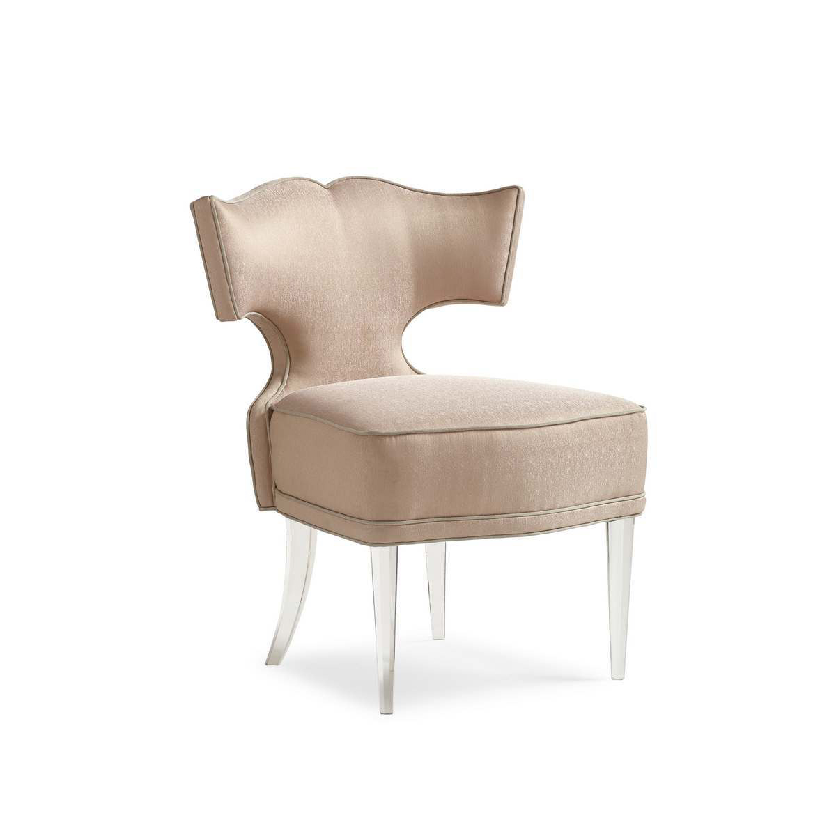 Caracole Facet Nating Glamorous Accent Chair With