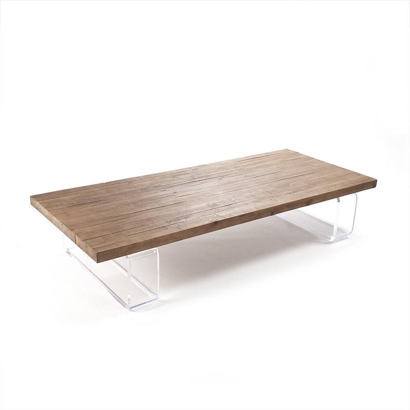 Zentique Acrylic Coffee Table